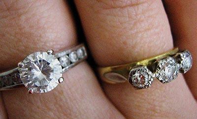 Diamantove prstene