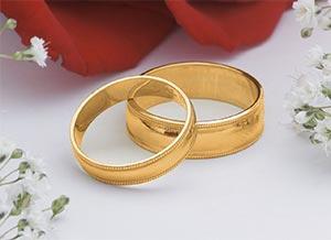 Zlate snubne prstene
